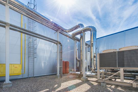Supply and installation of prefabricated steel halls
